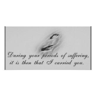 Footprints-Photocard-Grey Card