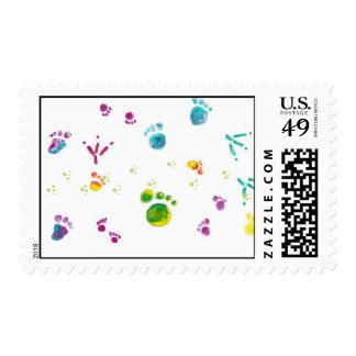 footprints postage