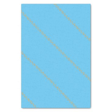 Beach Themed Footprints Tissue Paper