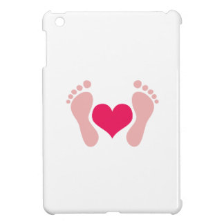 FOOTPRINTS WITH HEART COVER FOR THE iPad MINI
