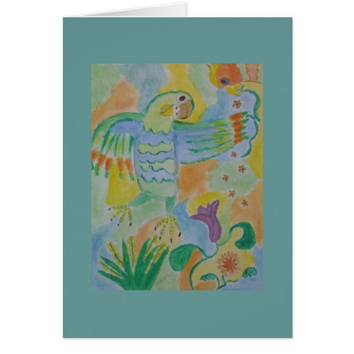footsbird ballet stationery note card