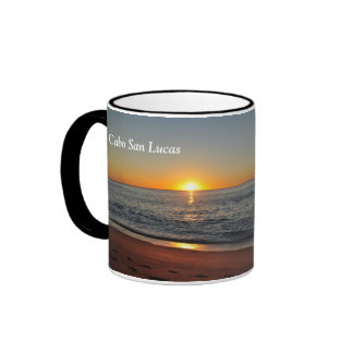 Footsteps by the Sunrise - Cabo Mugs