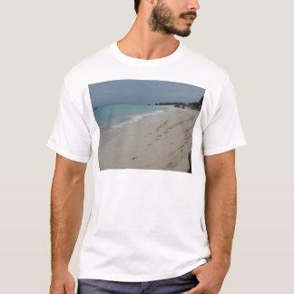Footsteps in Bermuda Sand T-Shirt