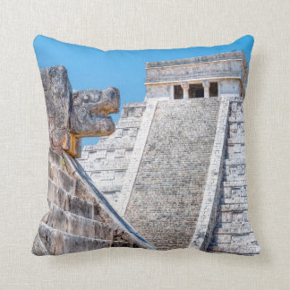 Footsteps of the Maya - Chichen Itza Throw Pillow