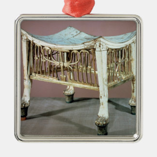 Footstool used by the child-king at the beginning metal ornament