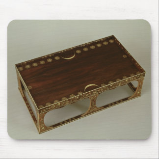 Footstool, with ivory inlay, Nara Mouse Pads