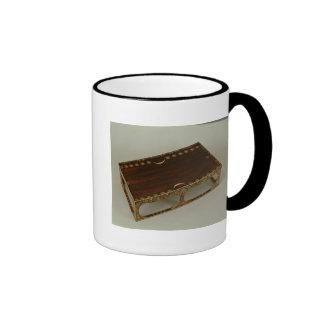 Footstool, with ivory inlay, Nara Coffee Mug