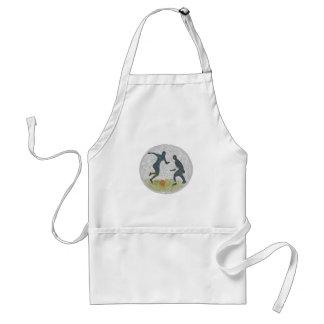 footy copy adult apron