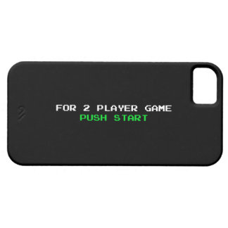 For 2 Player Game Push start iPhone SE/5/5s Case