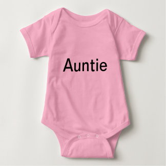 For a baby girl whom is an aunt. baby bodysuit