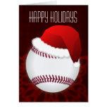 for a baseball player Christmas Cards