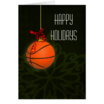 for a basketball player Christmas Cards