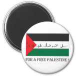 For a free palestine! magnets