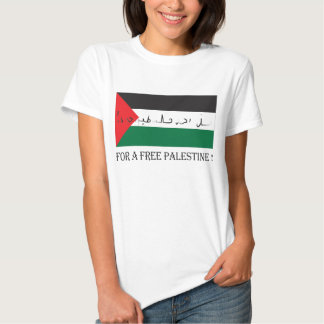 For a free palestine! shirt
