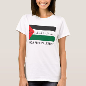For a free palestine! T-Shirt