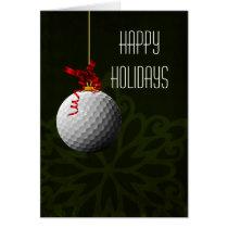 for a golfer Christmas Cards