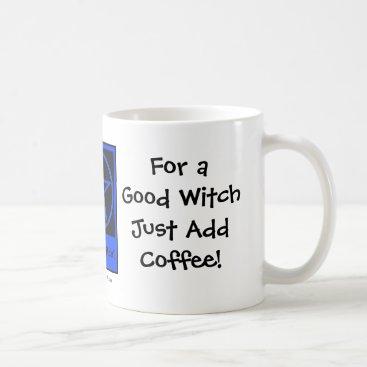 Halloween Themed For a Good Witch Add Coffee Coffee-addicts Cup/Mug Coffee Mug