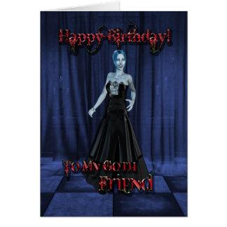 For a Goth Friend,A Vampire Birthday card