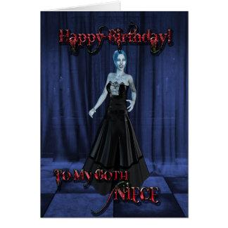 For a Goth niece,A Vampire Birthday card