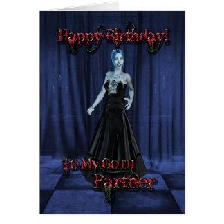 For a Goth partner,A Vampire Birthday card