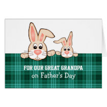 For a Great Grandpa on Father's Day Greeting Cards
