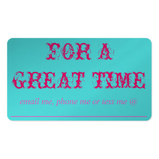 FOR A GREAT TIME CARD - It's CUSTOMIZABLE TOO!