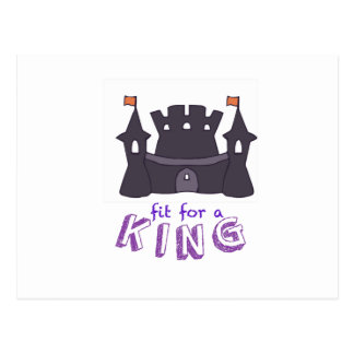 For A King Postcard