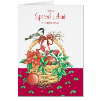 For A Special Aunt Card