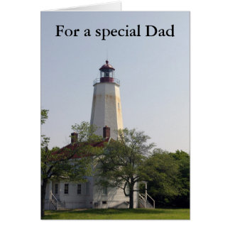 For a special Dad on Father's Day Card