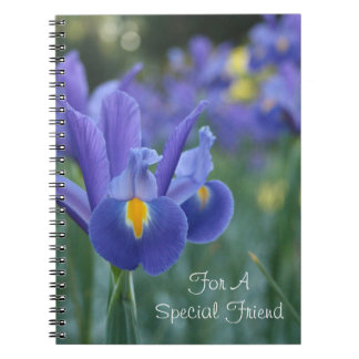 For A Special Friend Best Friend Tulip Notebook