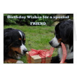 For a special Friend Greeting Card