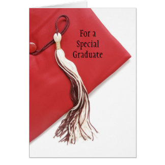 For a special graduate greeting card