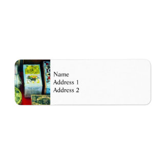 For Aches and Pains Return Address Label