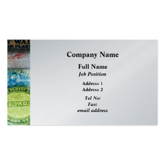 For Aches and Pains - Platinum Finish Business Cards