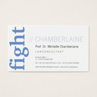 For attorneys business card