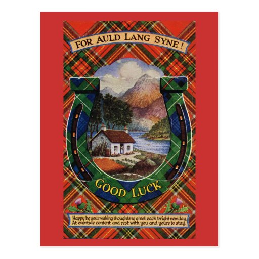 For Auld Lang Syne, Good Luck Post Cards