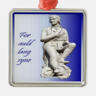 For Auld Lang Syne Metal Ornament