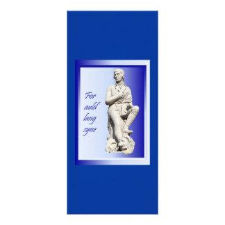 For Auld Lang Syne Rack Card