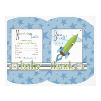For Baby Boy Puff Box Template Flyers