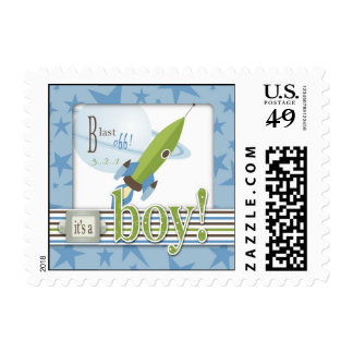 For Baby Boy Stamp 2