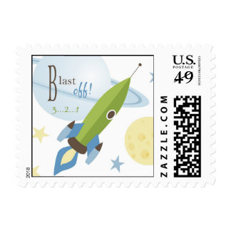 For Baby Boy Stamp
