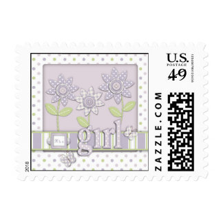 For Baby Girl Stamp