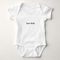 For Baby guests in  Wedding Baby Bodysuit