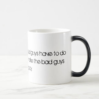 For bad boys magic mug
