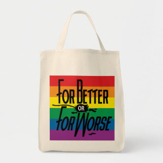 For Better or For Worse, Pride, LGBT, Celebrate Tote Bag