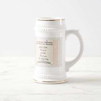 For Better or Worse 18 Oz Beer Stein
