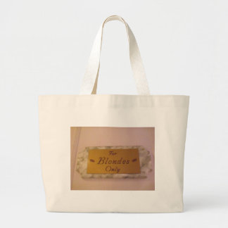 For Blondes Only Canvas Bags