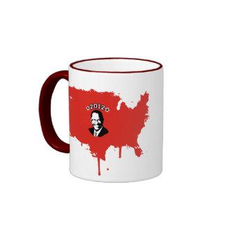 FOR CAIN 2012 RINGER COFFEE MUG