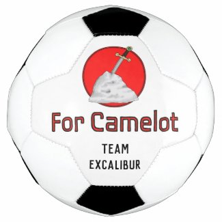 For Camelot Team Excalibur Soccer Ball