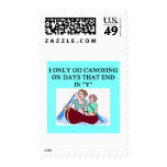 for canoeing lovers postage stamp